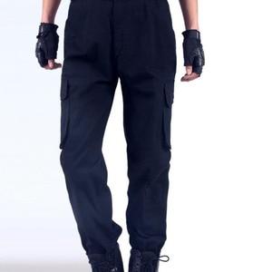 Image 3 - Spodnie robocze męskie naprawa samochodów zabezpieczenie w pracy spawanie fabryka odzież robocza spodnie bawełniane odzież ochronna spodnie