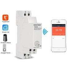 TM608 Einphasig WIFI Home Energy Meter mit Timer Schalter Fernbedienung durch APP Multi-funktions Spannung Strom Erkennung tim