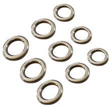 fishing solid ring jigging accessories the best 304 stainless steel very large test