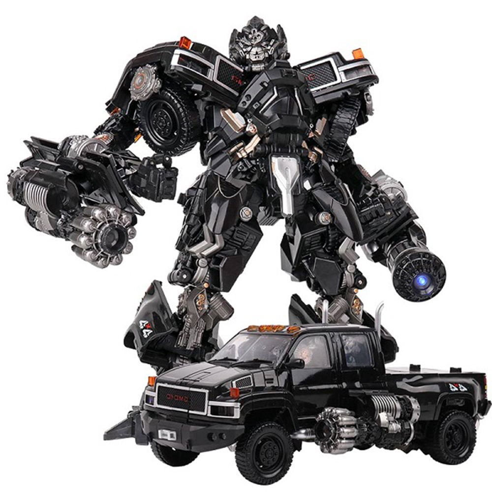 BMB Transformation Robot Black Mamba LS-09 LS09 Ironhide Weapon Expert KO MPM06 MPM-06 Alloy Truck Mode Action Figure Model Toys