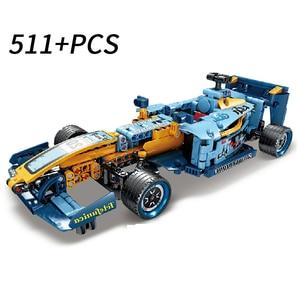 Image 4 - Ensemble de blocs de construction, modèle, technique de course arrière, pour enfants, briques, Muscle Super, jouets denfants à monter soi même
