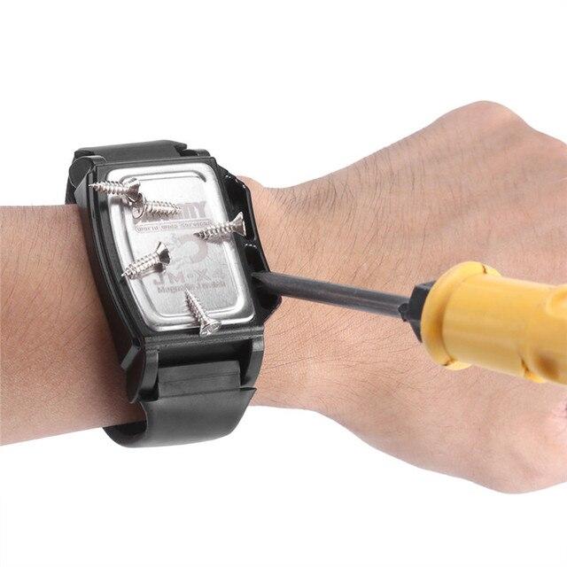JM-X4 magnétiseur démagnétiseur outil puissant magnétique Bracelet de poignet tenir petit écrou métallique vis Adsorption Bracelet nouveau