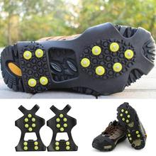 Shoe-Cover Splint Nails Spike Ice-Grips Anti-Rust Climbing Outdoor Winter Traction 10-Steel