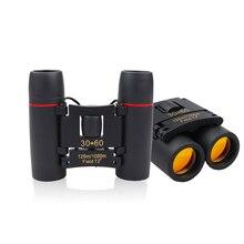 Зум телескоп 30x60 складной бинокль с низким светильник ночного видения для наружного наблюдения за птицами путешествия охота кемпинг