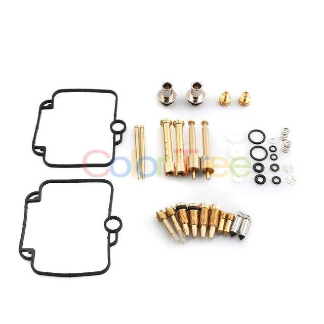 2 set Carburetor Repair Rebuild Kit Mikuni BST 33 for BMW F650 1993-2000 94 95 96 97 98 99 for Suzuki GS500 GS500E Carburetors 1