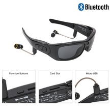 MS21 New HD Stereo Bluetooth Camera Glasses Wide Angle 120 Degree 1080p Outdoor Sports Sunglasses Wireless Bluetooth Earphones