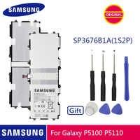 SAMSUNG Batteria Originale SP3676B1A 7000mAh Per Samsung Galaxy Tab 10.1 N8020 GTN8013 P7510 P7500 P5110 P5100 N8000 N8010 P5113