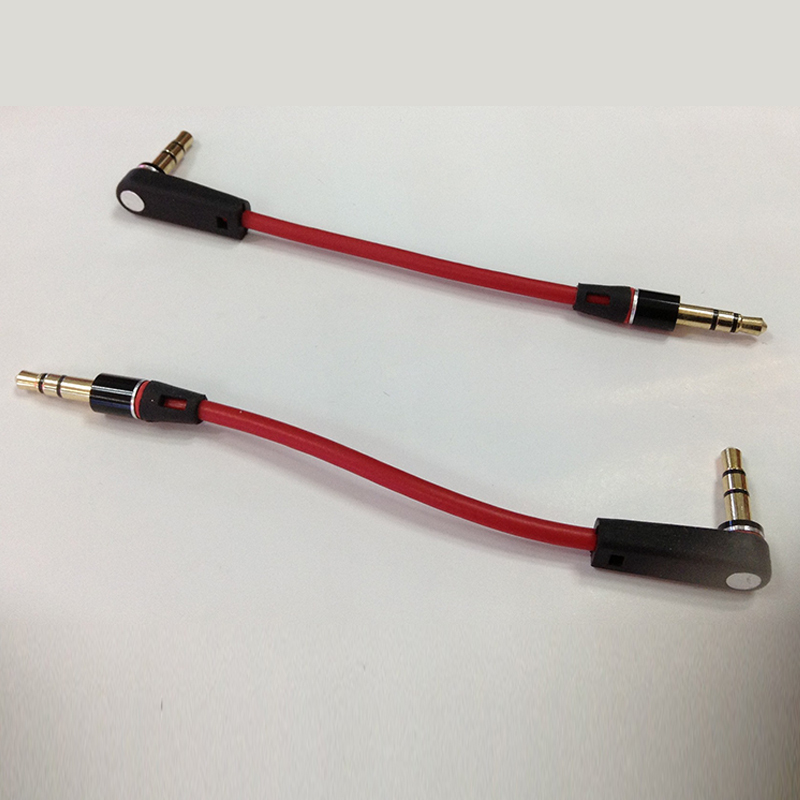 2pcs 20cm 3.5mm Jack Male to Male Audio Cable Jack to Aux Short Cable for Acoustic equipment phone computer Stereo Audio Cable