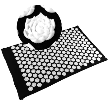 Hot Selling 1pc Fitness Yoga Mat Lotus Acupuncture Massage Stress Pain Relieve Mat for Pilates Yoga