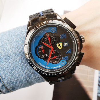 FERRARI WORLD Business Men Watches Top Brand Luxury AAA Watch Sport Casual Wristwatch Sports Men And Women Couple Watches