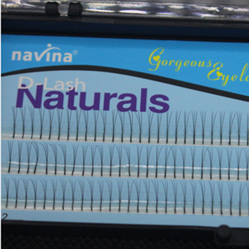 LEARNEVER 1box Plant Grafting Eyelashes 3 Root Of Hair Multi-root Grafting Eyelashes Headless Densely Plant Grafting Eyelashes