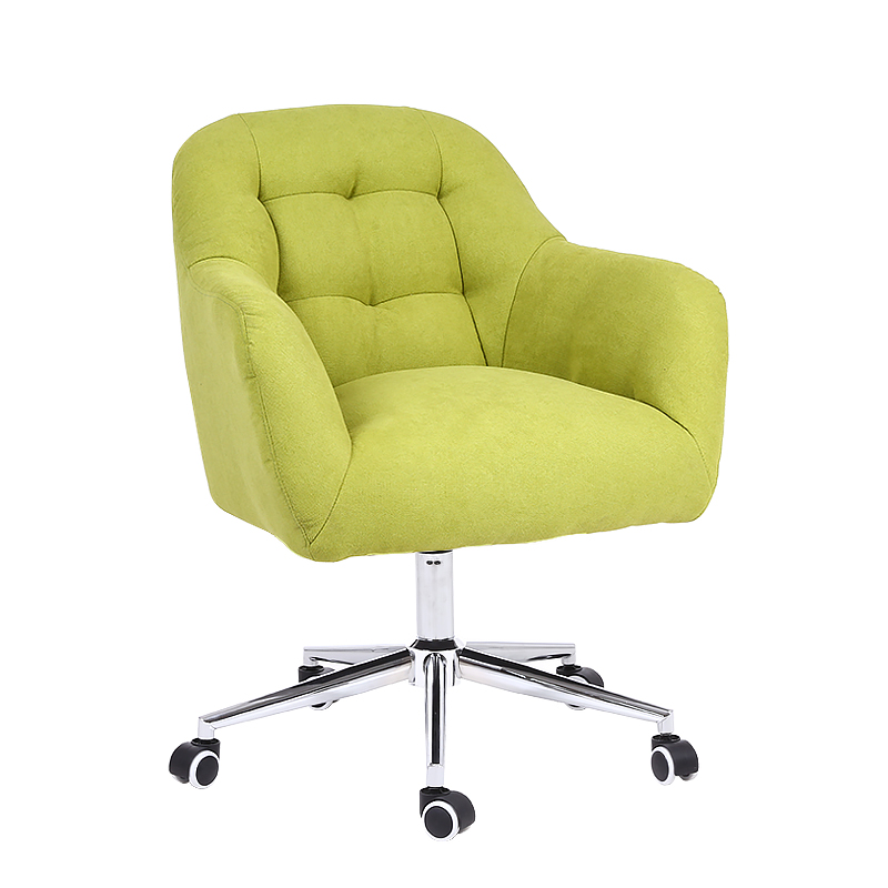 Nordic Fabric Sofa Chair Comfortable Sedentary Computer Chair Home Lazy People Talk Balcony Leisure Chair Desk Net Red Chair