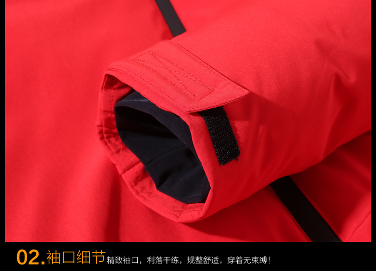HO new 19 thickening down jacket young men brief paragraph clothes leisure in winter to keep warm 8