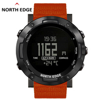 Men Digital Watch LED NORTHEDGE Men Watches Water Resist Clock Sports Military Watches relogio masculino Sport LED Wristwatches