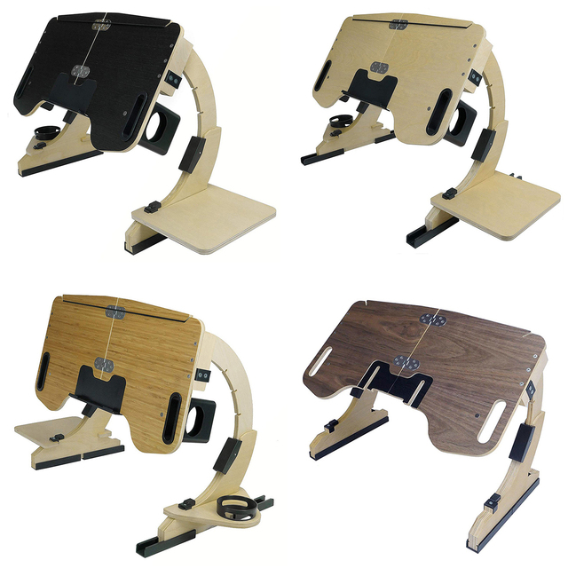 Adjustable Bed Laptop Foldable Notebook Stand  5