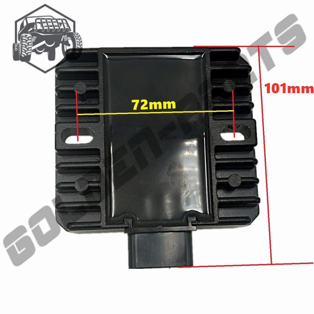 Hisun 500CC 700CC ATV Quad регулятор напряжения Выпрямитель 32100-058-0000