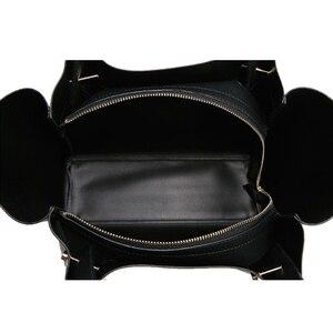 Image 5 - Tote bolsos mujer bolsas de couro crossbody para mulheres sling ombro shopper grande mão saco de 2019 bolsas de couro