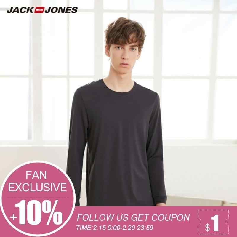Jack Jones Technology Pakaian Panjang Leisurewear T Shirt | 2194HE503
