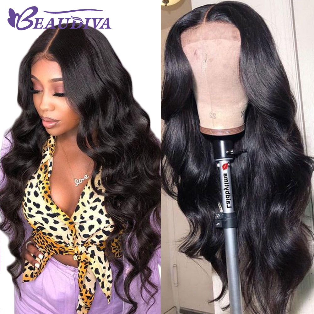 Closure Wig 100 Human Hair Wigs Body Wave For Black Women 4 4 Lace Wig with Innrech Market.com
