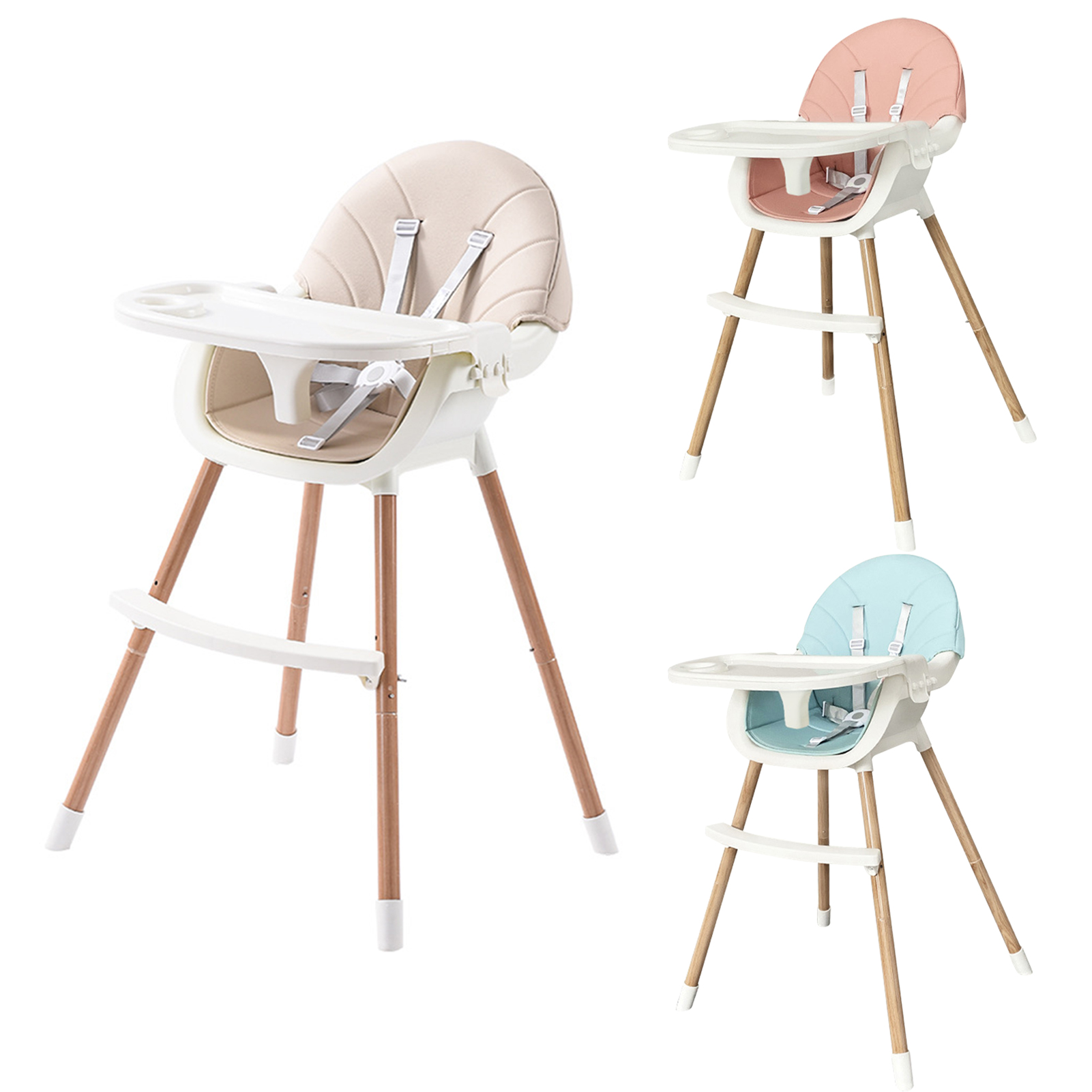 Multifunctional Foldable Portable Large Baby Chair Dining Table And Chair Seat
