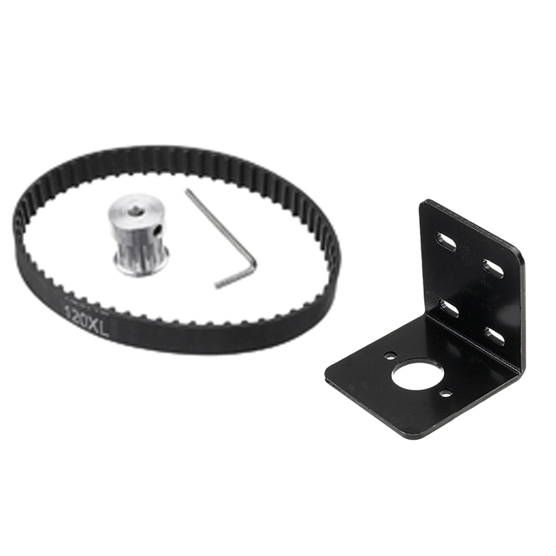 1 Set No Power Diy Woodworking Cutting Grinding Spindle Trimming Belt Small Lathe Accessories For Table Saw & 1Pcs 775 Motor Bas