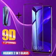 2 in 1 Full Cover 9D Tempered Glass for Huawei P30 P20-Lite P20-Pro Honor 10 20 Lite 10i 20i 8X 9X 9X-Pro Screen Protector film 2 in 1 full cover 9d tempered glass for huawei honor 9x 9x pro 8x 8a 8c 8s v20 v30 10 20 10i 20i 10 20 lite screen protector
