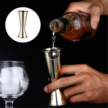 30/60ml Cocktail Glass Measuring Cup Bar Counter Tool Stainless Steel Scale Cup Beverage Alcohol Measuring Cup Kitchen Gadget