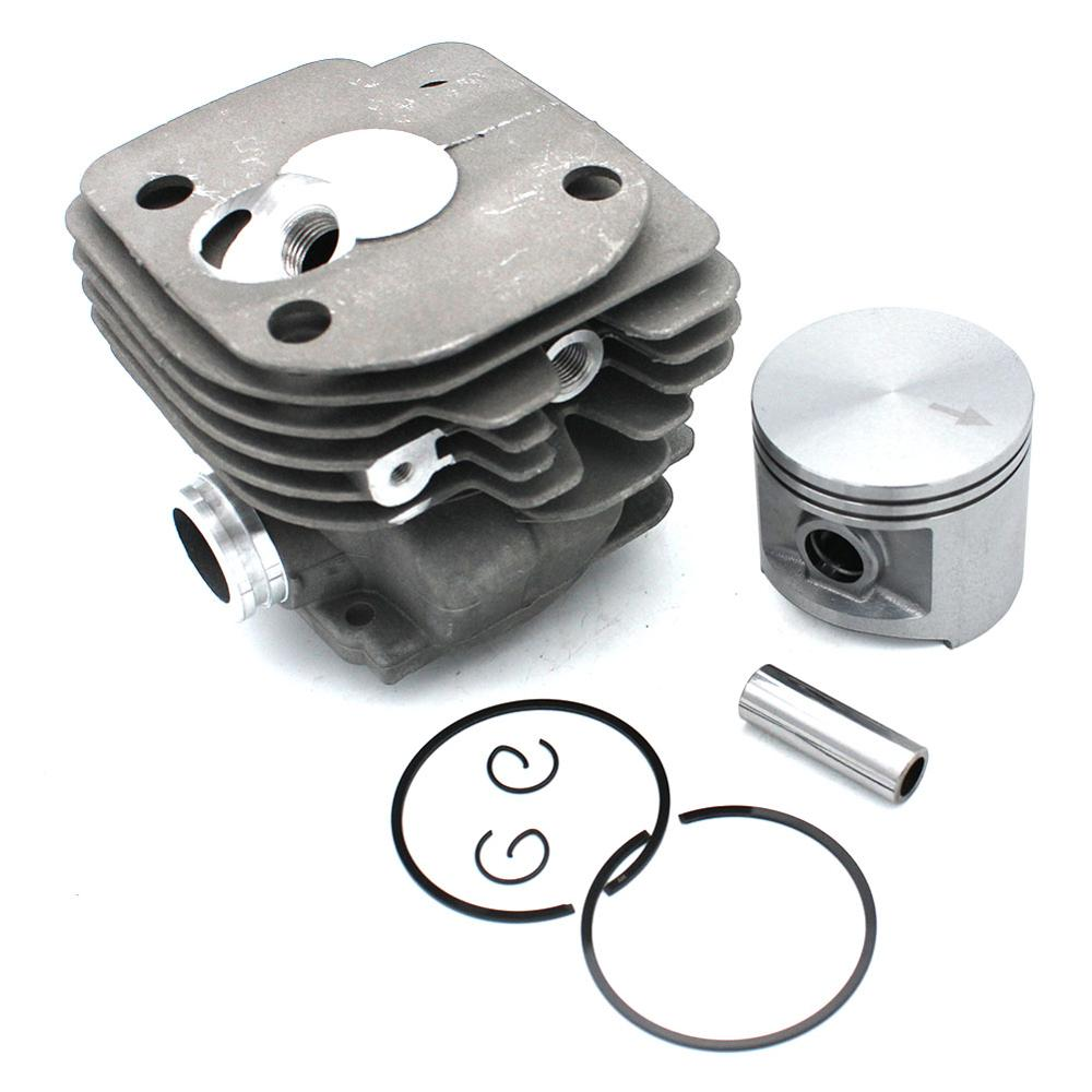 Cylinder Piston Kit 50mm For Jonsered 2063 2163 2071 2171 2171EPA CS2171 PN 503939372 503939371 503626473 503626472 503965271