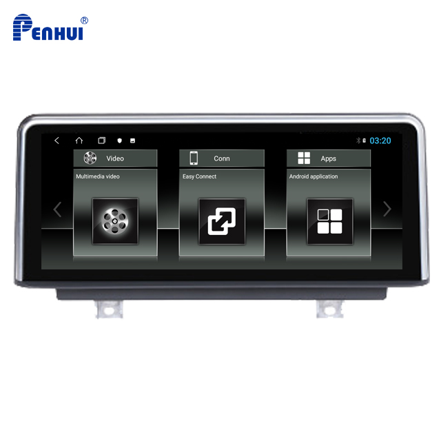 Car DVD GPS for <font><b>BMW</b></font> 3 Series <font><b>F30</b></font> 2013/2014/2015/2016 with 10.25 inch Octa Core 4GB RAM +64GB ROM <font><b>Android</b></font> 8.1 image