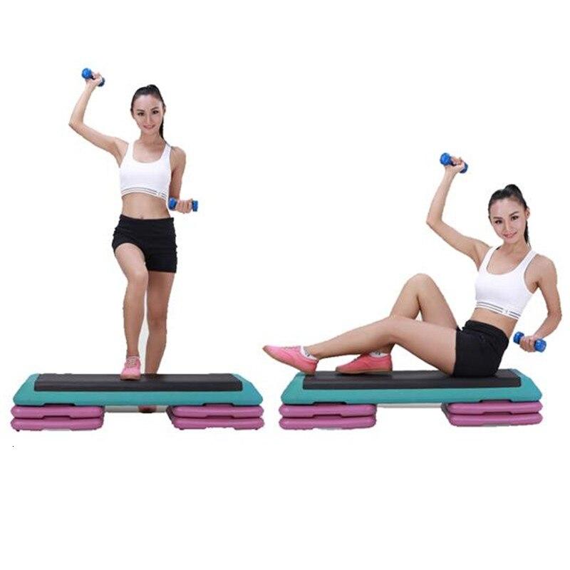 110x40x21 см регулируемый тренажер шаговый стояк для аэробных упражнений гимнастика доска для фитнеса Педальная доска для домашнего спортзала