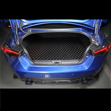 lsrtw2017 for subaru brz toyota 86 leather car trunk mat cargo liner 2012 2013 2014 2015 2016 2017 2018 2019 2020 accessories