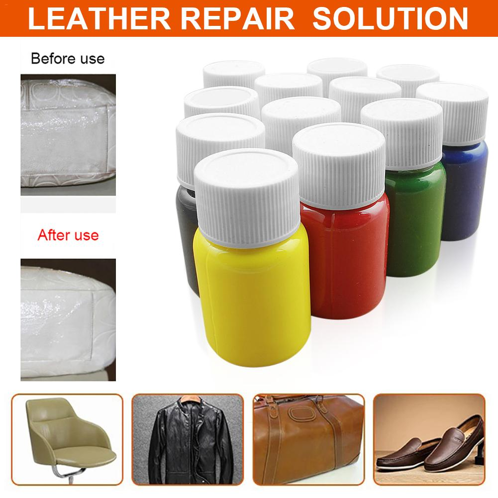 Leather Liquid Repair Agent NO Heat Car Seat Sofa Coats Holes Scratch Cracks Repair Kit Repair Leather Seats All Leather Product
