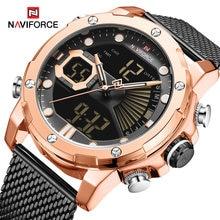 Часы naviforce мужские армейские спортивные водонепроницаемые