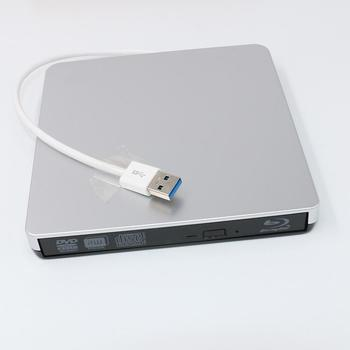 PC Laptop External USB3.0 Blueray Optical Drive BD DVD CD ROM Player Reader
