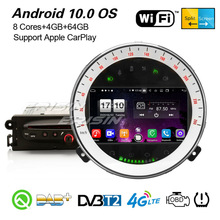 Erisin 8711 8-Core Android 10,0 Carplaly estéreo de coche DSP DAB + GPS WiFi CD OBD2 Bluetooth Canbus SWC DVR Navi para BMW Mini Cooper