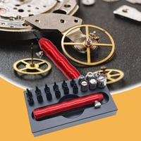 19pcs/set Back Case Watch Opener Remover Multifunction Watch Back Closer Watch Repair Tool Kit Watchmaker Accessory