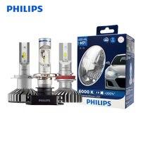 Philips LED H4 H7 H8 H11 H16 9005 9006 X treme Ultinon LED Car Headlight Fog Lamps 6000K Cool White +200% Brighter Bulbs, Pair