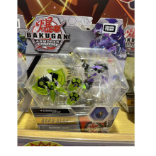 Takara Tomy Bakuganes Armored Alliance Boys Toy Eenoch Ultra Baku Gear Deformed Burst Ball Monsters Animal Model Kids Gift Green