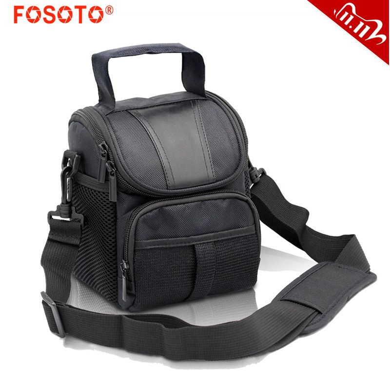 fosoto DSLR Camera Shoulder Bag Waterproof Case For Canon EOS 4000D 2000D 1500D 1300D 1200D 1000D 800D 760D 750D 700D 650D 450D