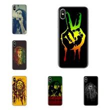 Reith rasta สิงโต reggae bob marley ซิลิโคนสำหรับ Samsung Galaxy J1 J2 J3 J4 J5 J6 J7 J8 plus 2018 Prime 2015 2016 2017(China)