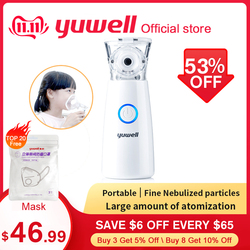 Yuwell M102 Mini Portable Steam Atomized Inhaler Mesh Nebulizer Household Asthma Nebulizer Health Monitor