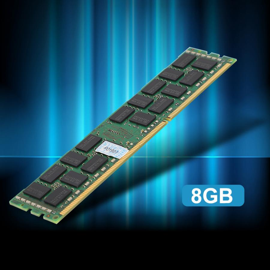 8GB PC3-14900R <font><b>DDR3</b></font> 240Pin <font><b>1866MHZ</b></font> 2R*4 <font><b>ECC</b></font> REG Server Memory X79 image