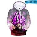 3d anime moletom com capuz dragão bola z bolso moletom com capuz poleron homem streetwear colorido bola hoodie