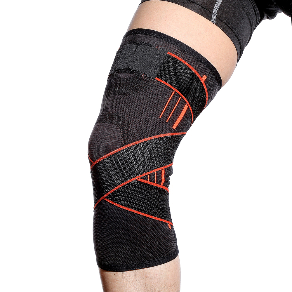 Protective Gear Outdoor Mountaineering Running Knee Pads Basketball Compression Protection Knee Elastic Fitness Riding Unisex 1