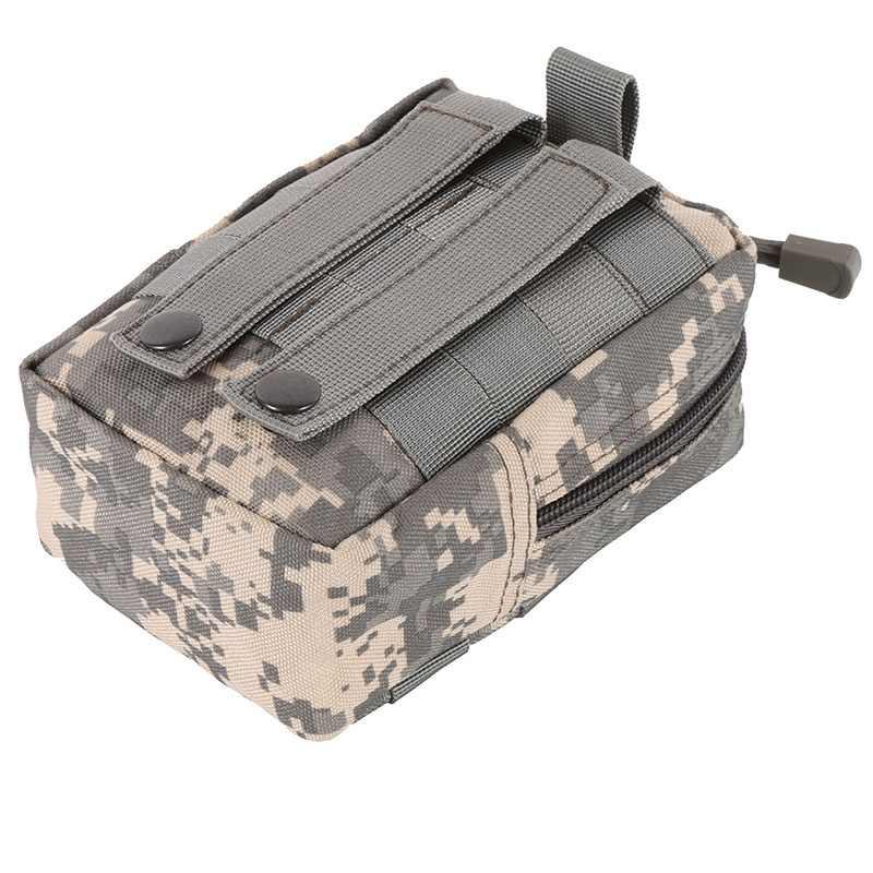 Motorrijden Klimmen Rits Pouch Tactische Medische 600D Utility Tactical Vest Taille Tas voor Fietsen Outdoor Sport