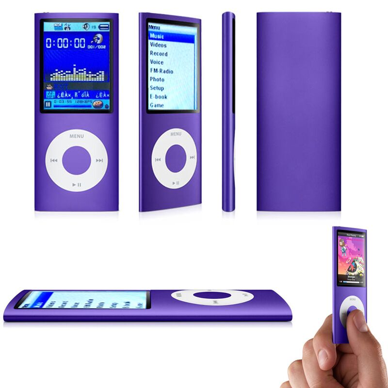 SMARCENT 1.8 Inch MP3  Player 16GB 32GB Music Playing With Fm Radio Video Music Player E-book Player MP3 Players