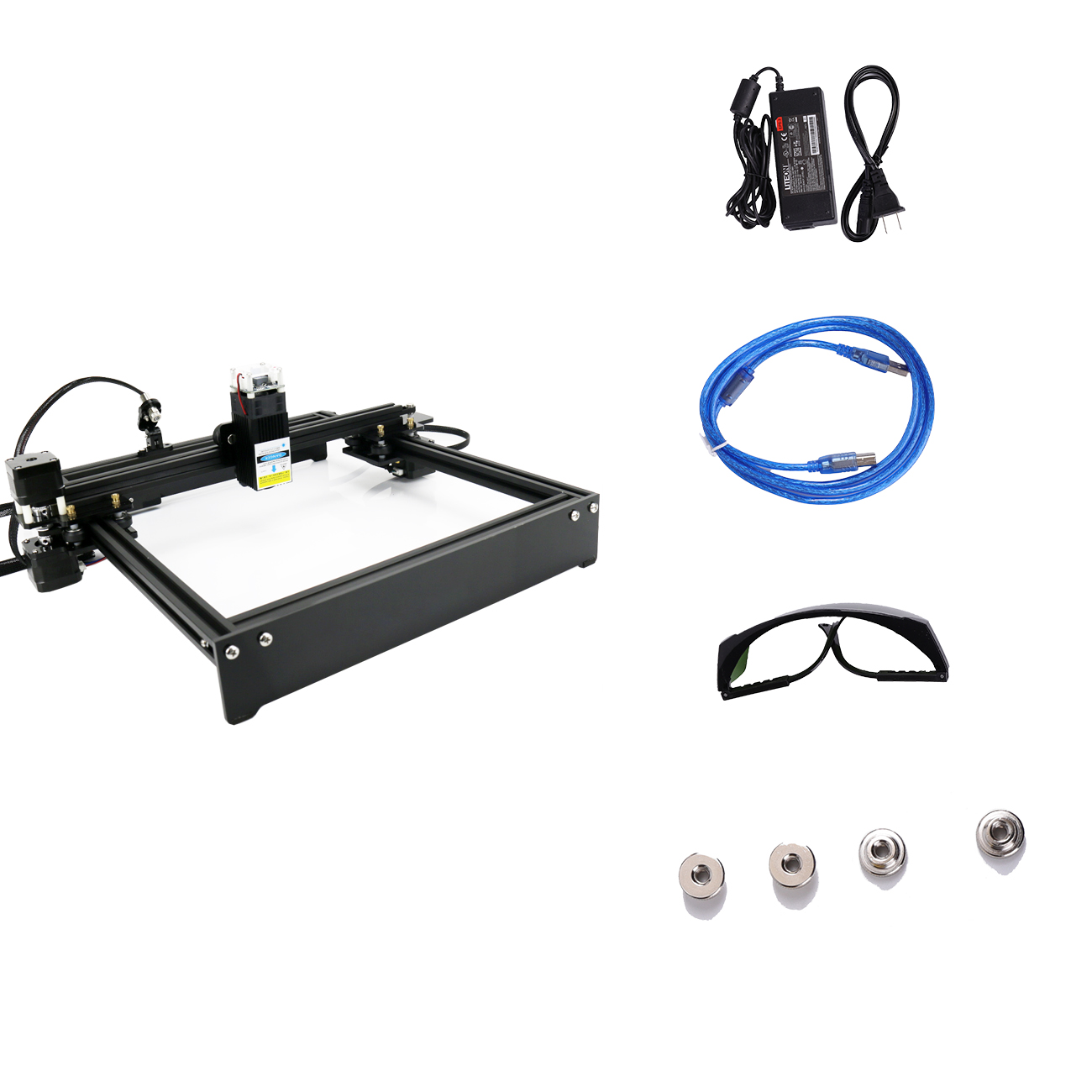 High Power 30W 40W Laser Cutting Machine Desktop Laser Engraver Laser Printer - Laser CNC Router Wooden Craft Carving