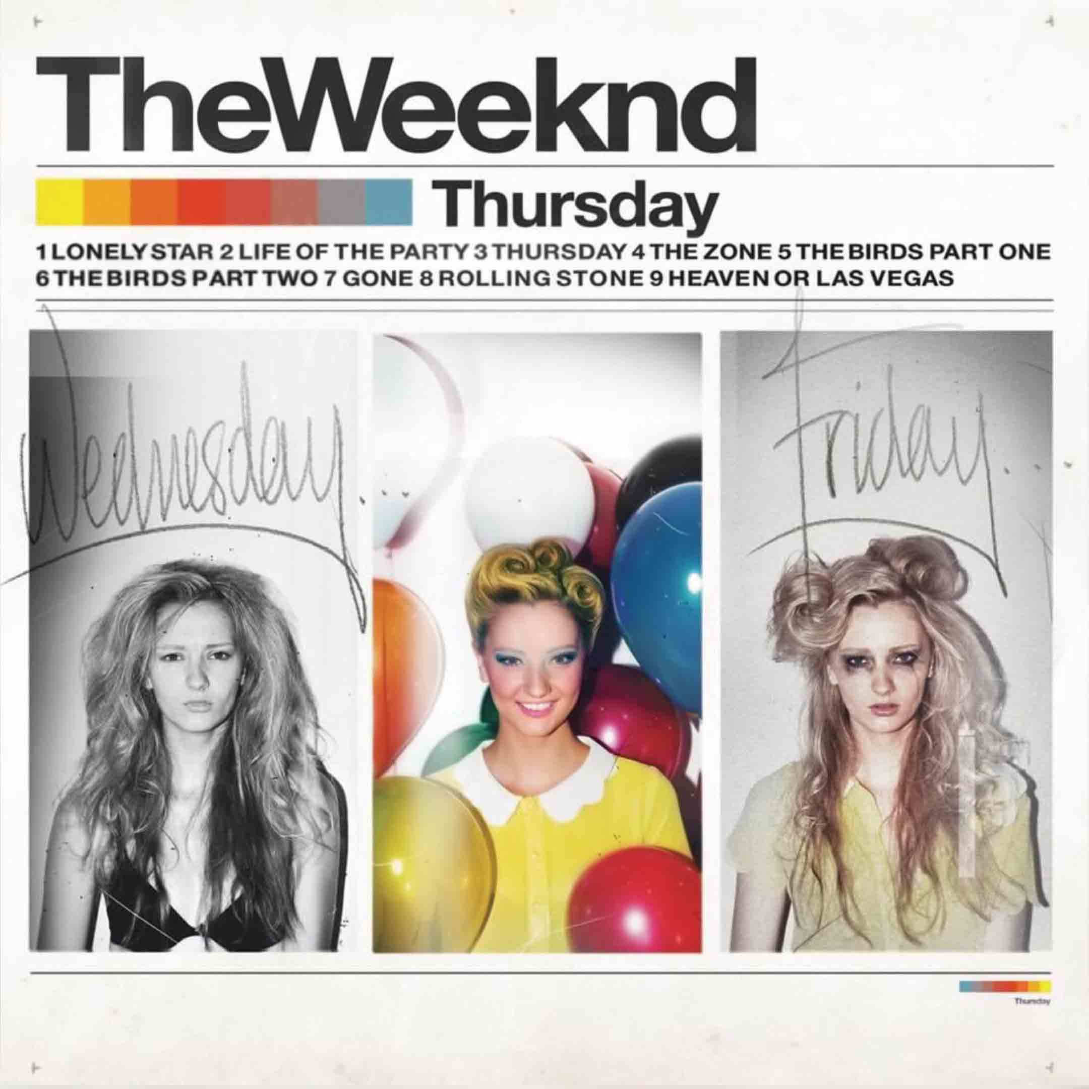 The Weeknd Hot Album Music Thursday Fabric Poster Home Decor H-278