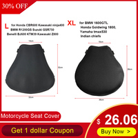 3D Mesh Cushion Cover Sunscreen Mat Large Air Pad Motorcycle Seat Cushion Motorcycle Cool Seat Cover L XL Seat Protector Cushion