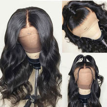 Ably Peruvian Body Wave 360 Lace Frontal Human Hair Wigs For Black Women Pre plucked With Baby Hair Non Remy Glueless Lace Wig(China)